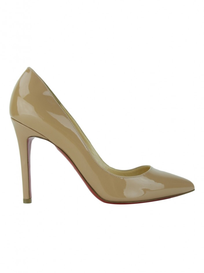 Sapato Christian Louboutin Pigalle 100 Nude