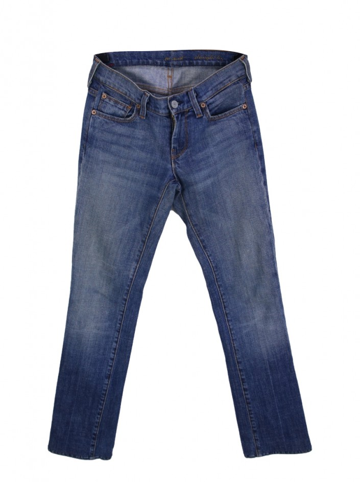 Calça Seven For All Mankind Straight Jeans