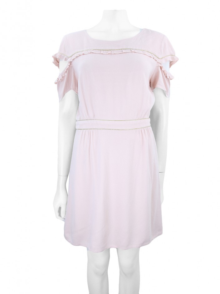 Vestido Carol Bassi Mary Pickford Rosa