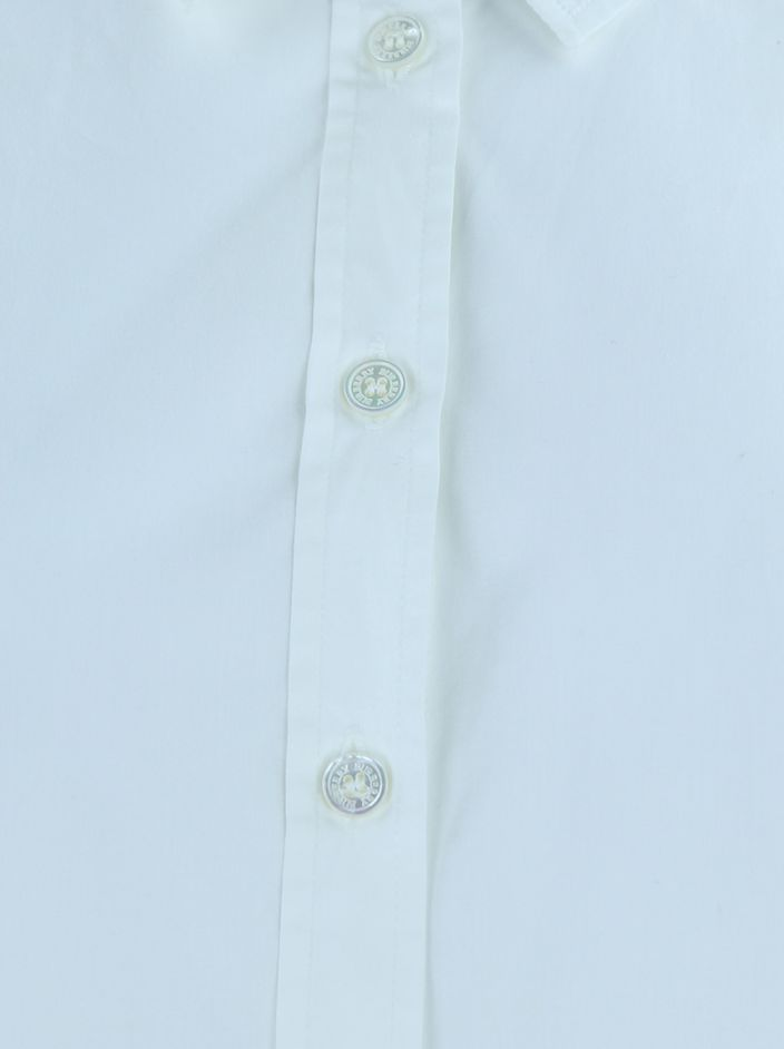 Camisa Burberry Slim Fit OffWhite