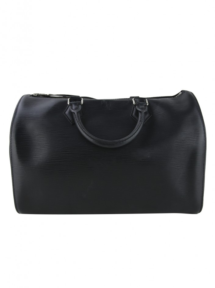 Bolsa Louis Vuitton Epi Speedy 35 Preto