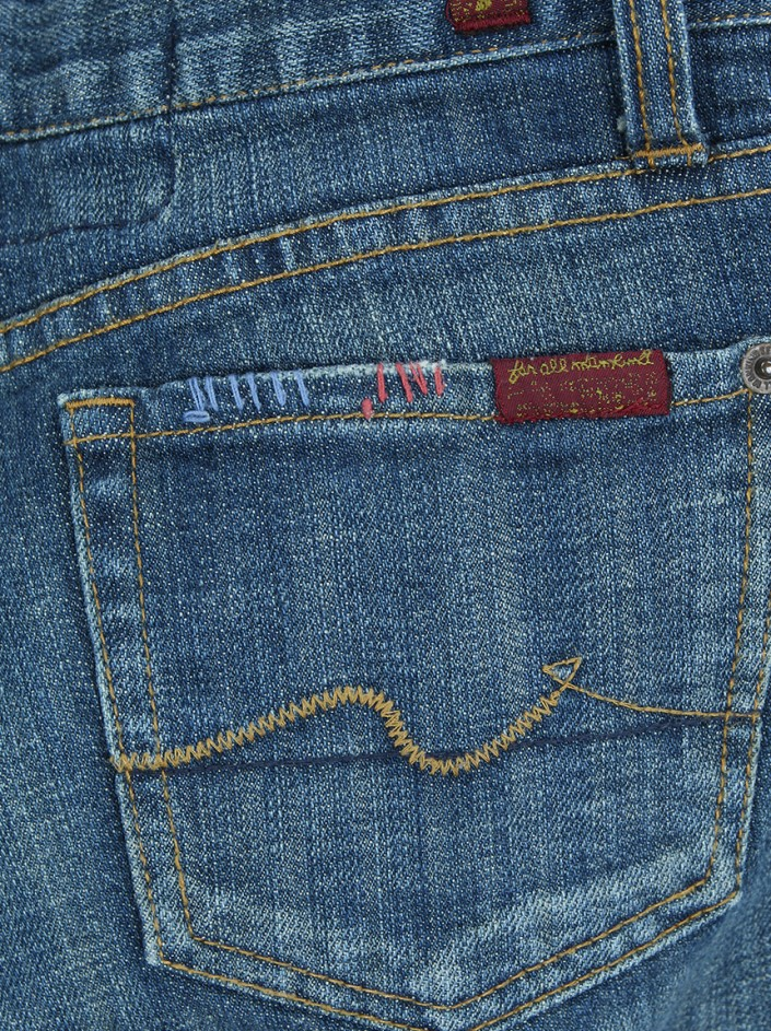 Calça Seven For All Mankind The Great China Wall Jeans