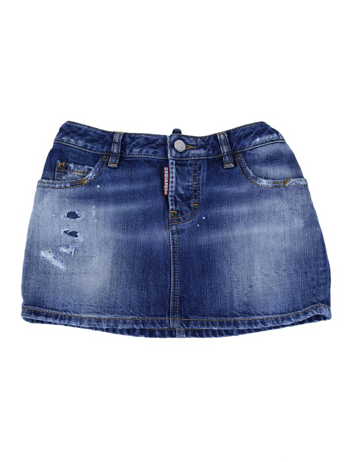 Saia Dsquared2 Mini Jeans Infantil