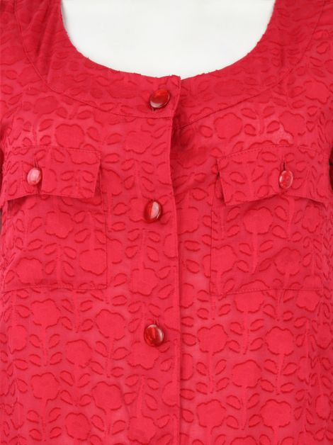 Blusa Marc by Marc Jacobs Rosa Texturizada