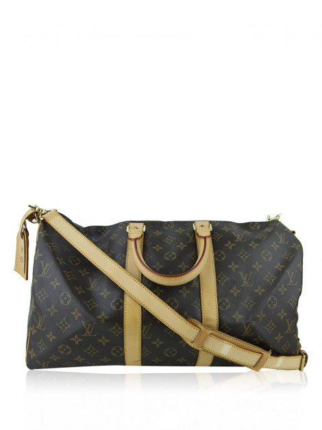 Mala de Mão Louis Vuitton Keepall 45 Bandoulière Monogram