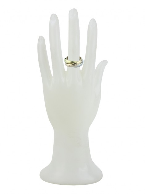 Anel Cartier Trinity Ring Ouro