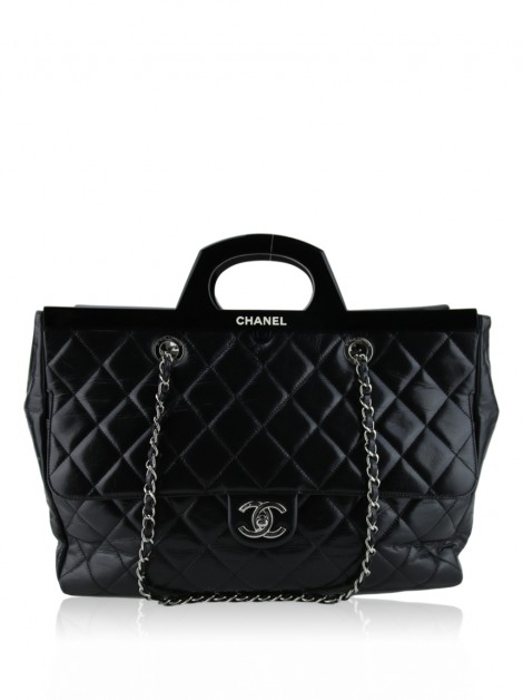 Bolsa Chanel CC Delivery Large Preto