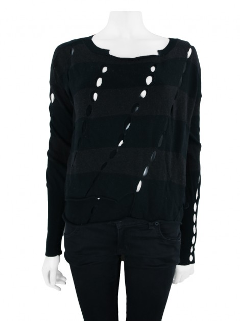 Blusa All Saints Spitalfields Brigit Jumper Listrado