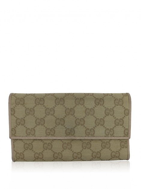 Carteira Gucci Monogram Continental