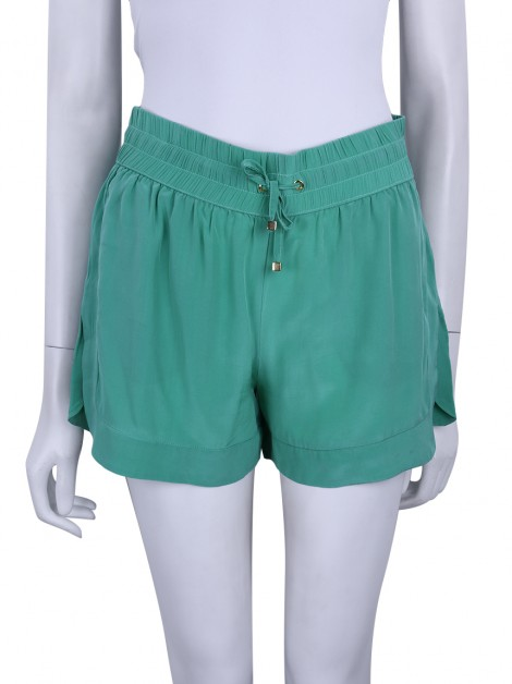 Shorts Animale Seda Verde