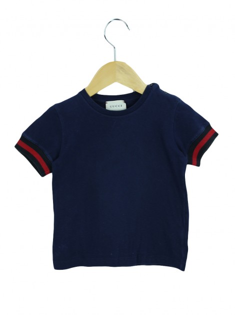 Camiseta Gucci Azul Toddler
