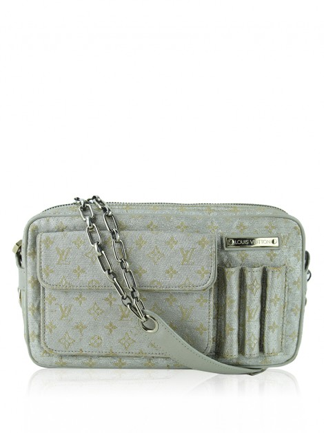 Bolsa Louis Vuitton Mini Lin Shine McKenna Prata