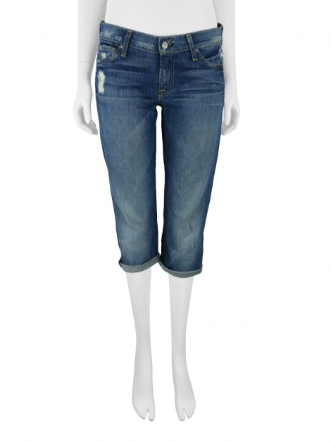Calça Seven For All Mankind Crop Josefina Jeans