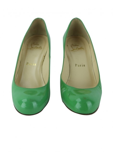Sapato Christian Louboutin Simple Pump 70 Verde