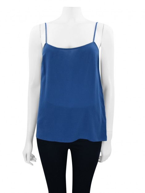 Blusa Equipment Seda Azul