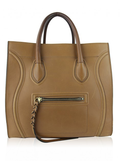 Bolsa Celine Medium Luggage Marrom