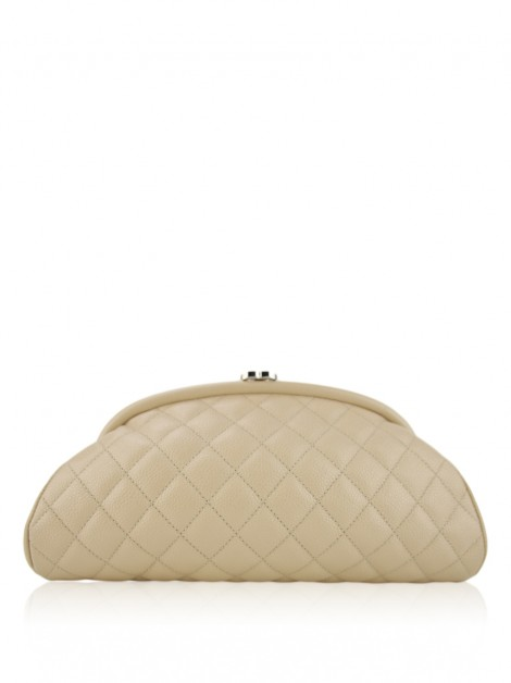 Clutch Chanel Timeless Bege