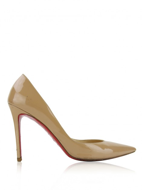 Sapato Christian Louboutin So Kate Bege