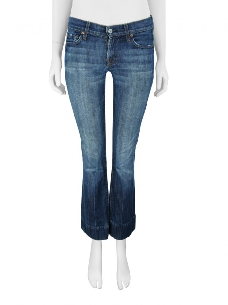 Calça Seven For All Manking Jeans Bootcut