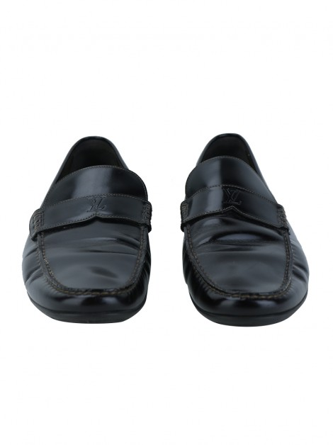Sapato Louis Vuitton Driving Loafer Café
