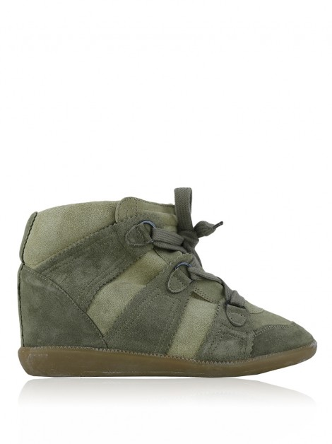 Tênis Isabel Marant Sneakers Bobby Bege