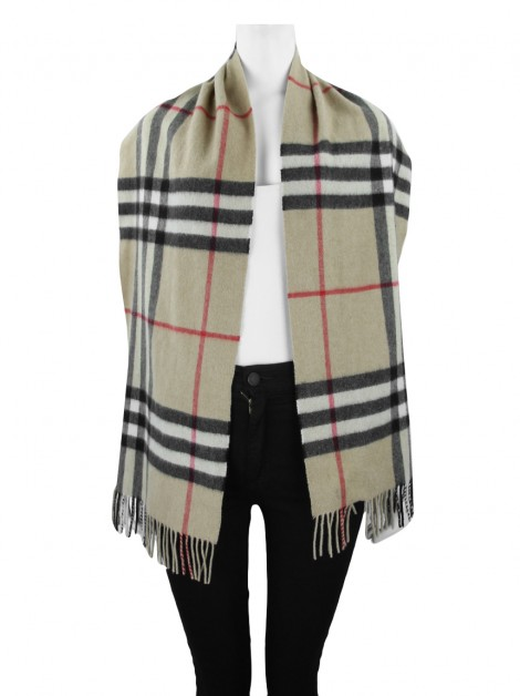 Cachecol Burberry Cashmere House Check