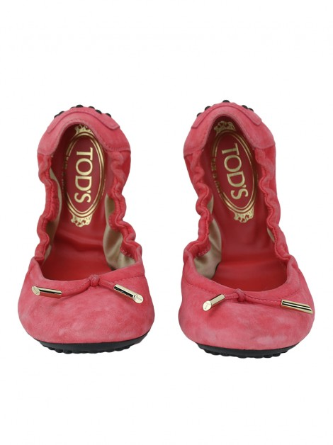 Sapatilha Tod's Suede Rosa