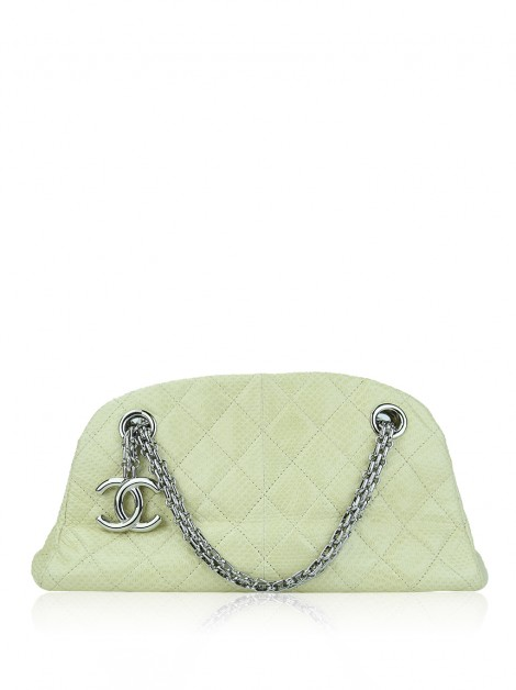 Bolsa Chanel Just Mademoiselle Mini Python