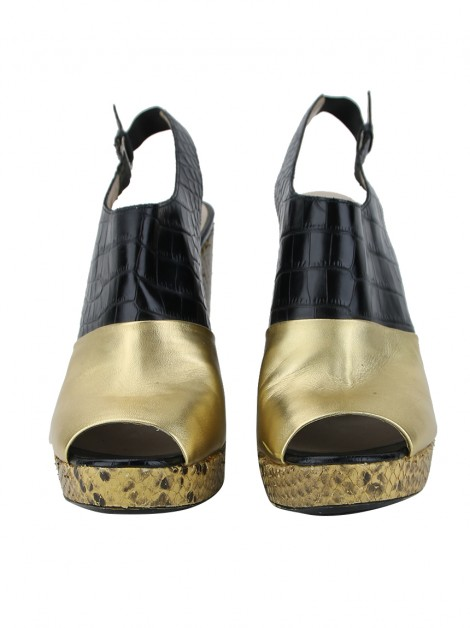 Sapato Dries Van Noten Color Black Slingback