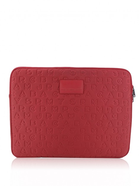 Case para Notebook Marc By Marc Jacobs Texturizada Rosa