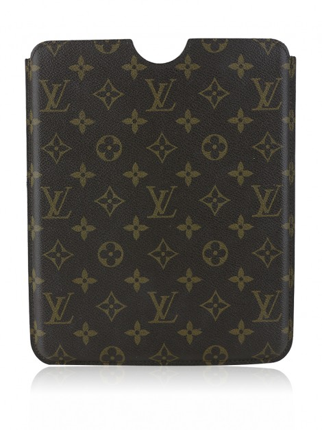 Case Para IPad Louis Vuitton Canvas Monograma