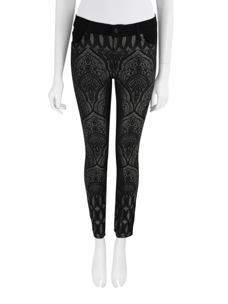 Calça Seven For All Mankind Skinny Jacquard