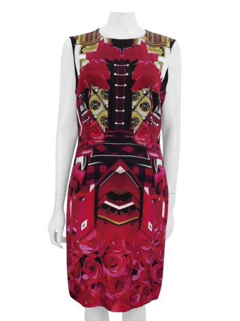 Vestido May Katrantzou Seda Estampado