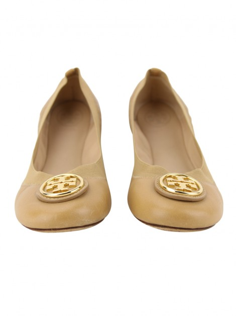 Sapatilha Tory Burch New Nellie Bege