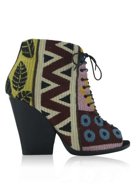 Bota Burberry Prorsum Virginia Tapestry