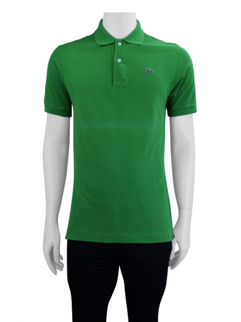 Camisa Lacoste Polo Verde Masculina