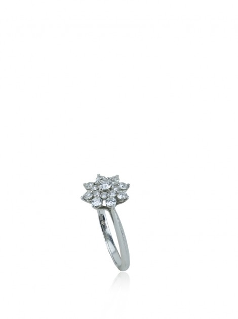 Anel Tiffany & Co Flor Diamante