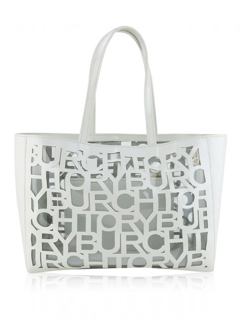 Bolsa Tory Burch TB Cutout Optic White