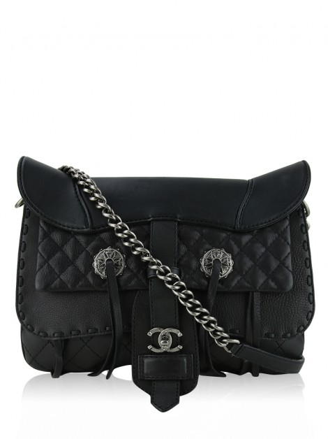 Bolsa Chanel Paris-Dallas Cowboy Fringe Saddle