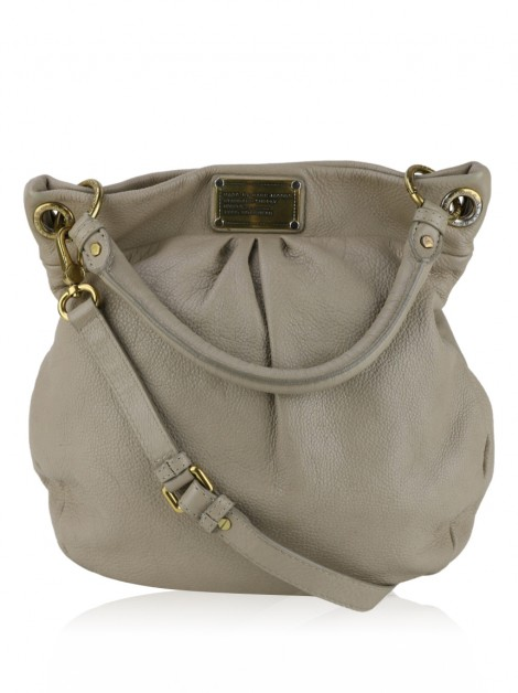Bolsa Marc By Marc Jacobs Q Hillier Hobo Bege