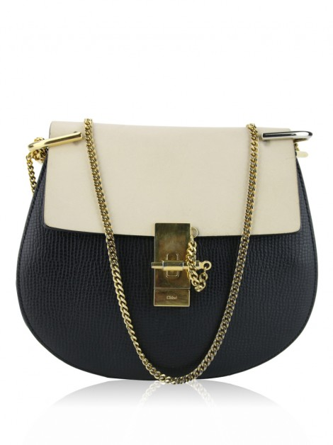 Bolsa Chloé Mini Drew Bi-Color