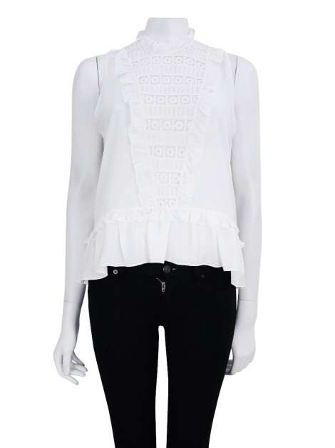 Blusa Mixed Renda Off White