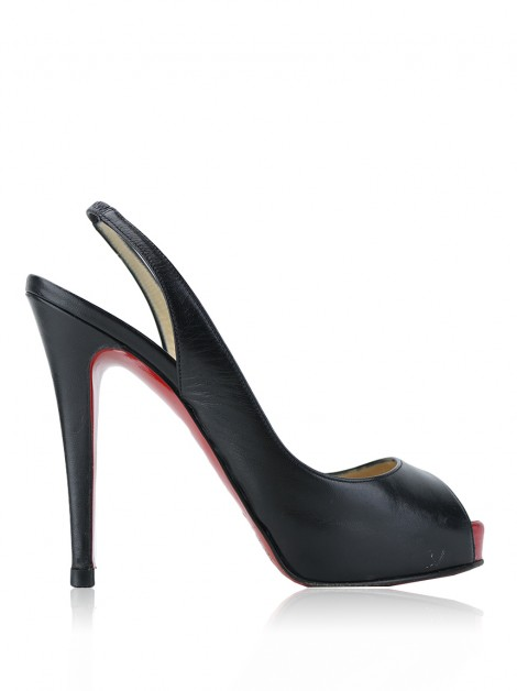 Sapato Christian Louboutin Private Number Preto