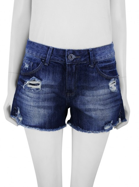 Shorts Le Lis Blanc Denim Puídos