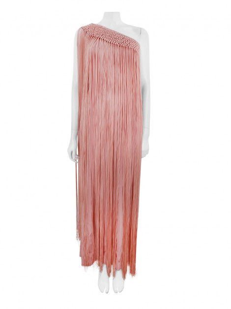 Vestido Temperley London Damara Fringe