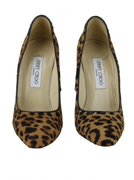 Sapato Jimmy Choo Victoria Animal Print