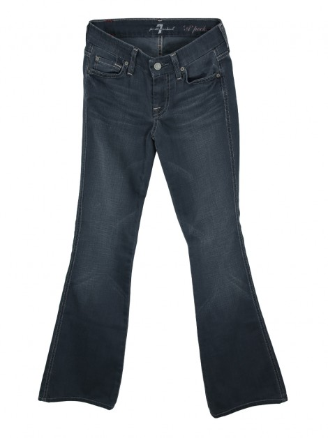 Calça Seven For All Mankind A Pocket Jeans Grafite