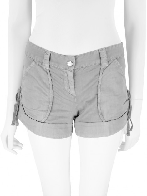 Shorts Armani Exchange Curto Cinza