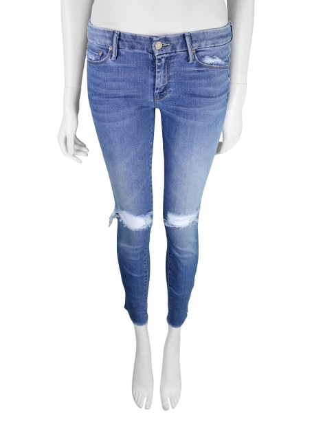 Calça Mother Looker Ankle Fray Jeans