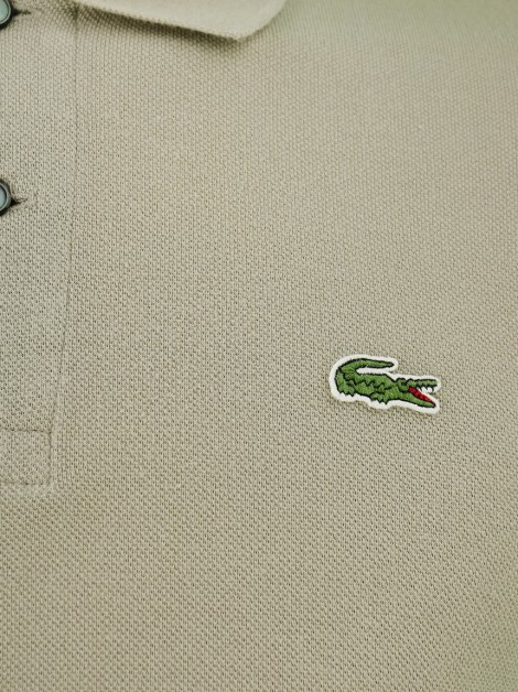 Blusa Lacoste Polo Bege